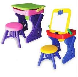 Escritorio Boy Toys con silla , marcador y borrador