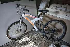 Bicicleta favorable