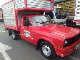 Vendo excelente camioneta mazda b1600, gas-gasolina