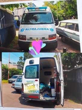 Renault Master Ambulancia