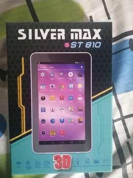 Se vende tablet silver max totalmente nueva