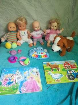 Muñecas mas juguete musical x 50