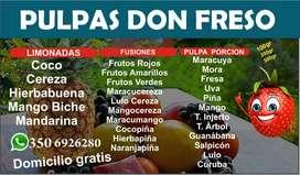 Pulpas de Pura Fruta Don Freso