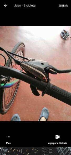 Bicicleta de ruta urbana