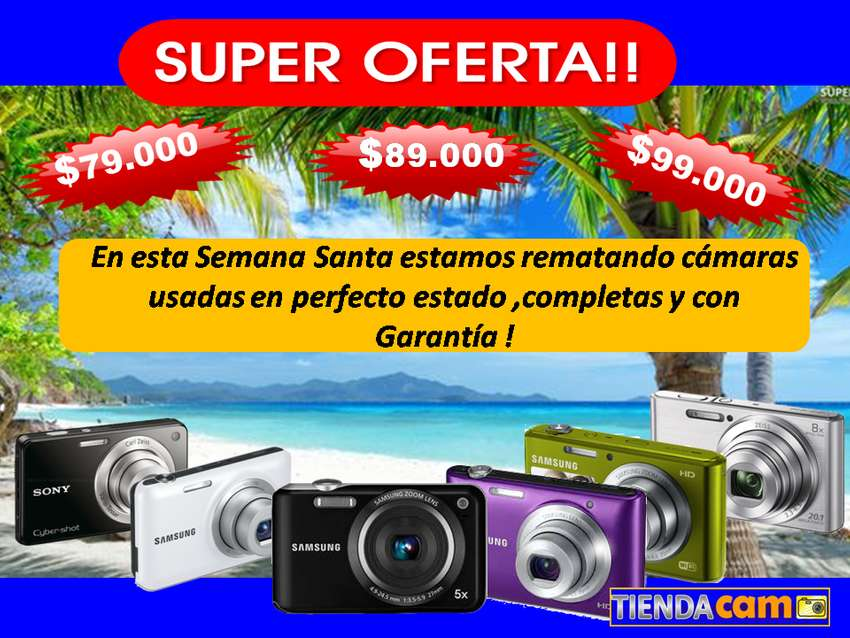 Camara Fotográfica Usadas a 99.000 SONY SAMSUNG PANASONIC KODAK OLYMPUS 0