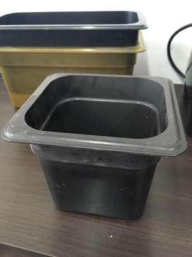 Azafates policarbonato varios tamaños topinera