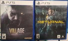 Returnal & Resident evil village