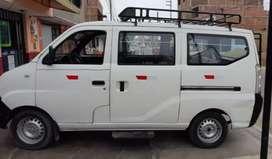 Alquiler de Minivan GLP motor 1.3 para reparto