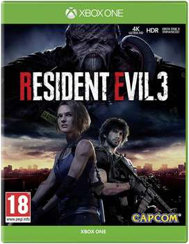 Resident Evil 3 Remake Xbox One, Físico