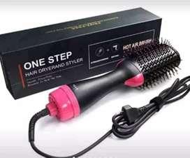 Cepillo giratorio one step Up plancha y secador