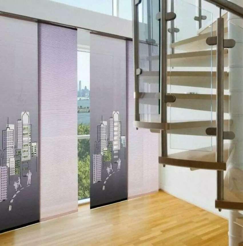 Cortinas. persianas .Panel japones 0
