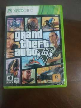 GTA 5 Xbox 360.