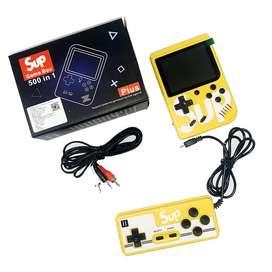Sup mini consola retro de 400 games