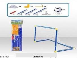 Cancha de futbol infantil armable