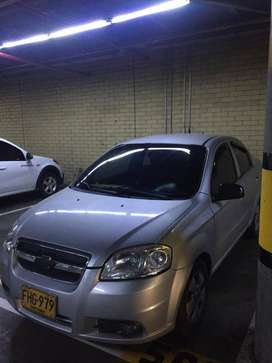 Chevrolet Aveo emotion, modelo 2009
