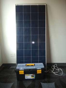 Kit solar con baterías de litio