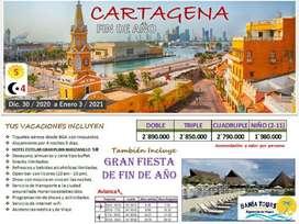 TOUR CARTAGENA AÑO NUEVO