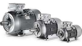 Motor SIEMENS IP55, 4-polos, 1500 rpm, IMB3, FS=1.1, 0.55kW / 0.75CV, tamaño 80