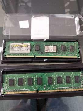 MEMORIAS DDR 3 DE 2 GIGAS