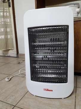 Calefactor nuevo, sin uso, con caja