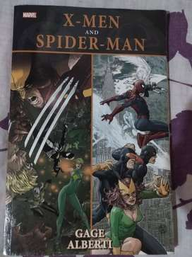 X-men And Spider-man Marvel (gage Alberti) En Ingles