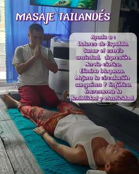 Masaje Medicinal Tailandés