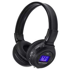 Audífonos Inalámbricos Bluetooth Con Pantalla Led