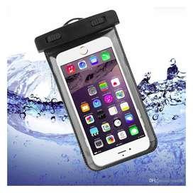 Funda de teléfono sumpergible, resistente al agua para deportes acuáticos