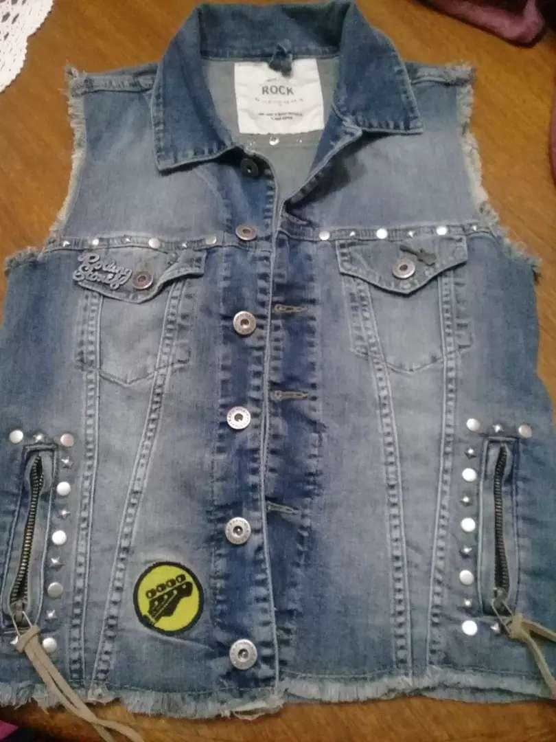 Chaleco de jeans. Rapsodia 0