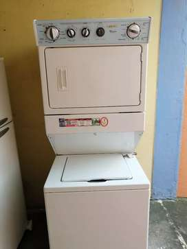 Torre lavadora secadora wirlpool