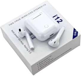 Audífonos Bluetooth Tipo AirPods I12 Tws Tactiles Autoconect