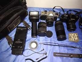 Vendo equipo completo fotografico