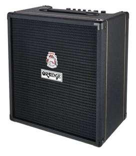Amplificador Para Bajo Orange Crush Bass 50 Bk Afinador