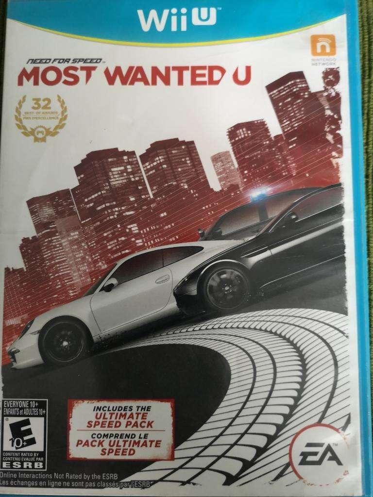 Juego Wiiu Most Wantedu 0