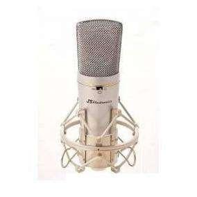 Microfono Condenser Js Mc310/mc330 Con Funda Y Araña 0