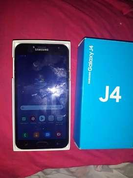 Vendo teléfono Samsung j4  32 gigas en perfectas condiciones con su caja