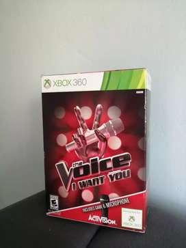 Video Juego La Voz/The Voice para Xbox 360