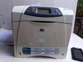 IMPRESORA HP Laserjet 4650   usada reacondicionada