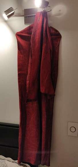 Vendo Vestido Rojo de Fiesta, Tipo Corsé