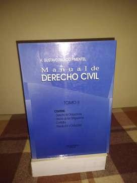 Manual de Derecho Civil TOMO II HUALLAGA EDITORIAL