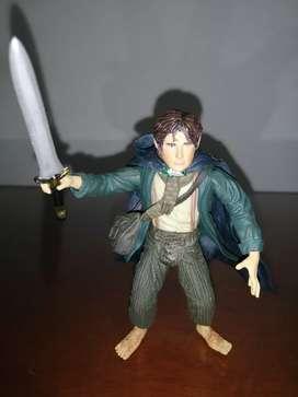 El señor de los anillos toy biz hobbit