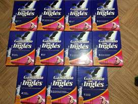 Curso de ingles Ganando con Inglés, 11 Tomos, como nuevo