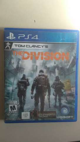 Tom clancy's the division juego de play 4