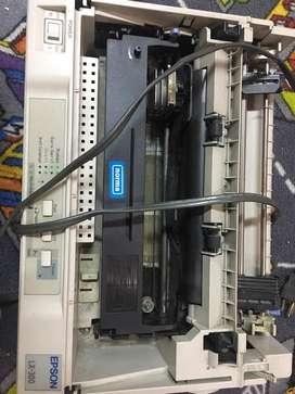 Impresora epson lx300 de punto sin tapa