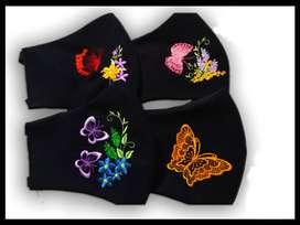 VENDO: Tapabocas, bordados, perzonalizados y reversibles