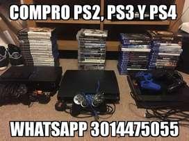 Comproooooo Ps2, Ps3 Y Ps4 Comproooooooo