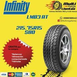 Llantas 215.75r15 Infinity LMB3 AT
