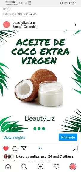 Aceites / pasta de coco extra virgen