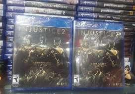 Juego play 4 injustice 2