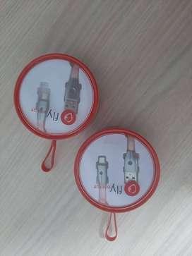CABLE USB CARGA RAPIDA - V8- TIPO C - IPHONE